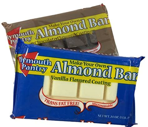 Plymouth Pantry Almond Bark Ingredients by Easy Chocolate Dipped Wafer Cookies
