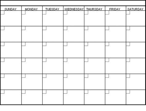 blank template calendar 6 week printable calendar calendar templates