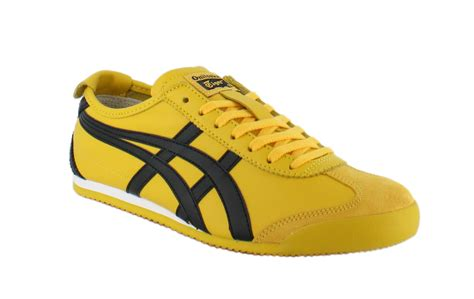 As Mexico66 By onitsuka tiger mexico 66 yellow black unisex trainers ebay