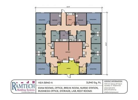 medical office floor plan medical floorplans ramtech