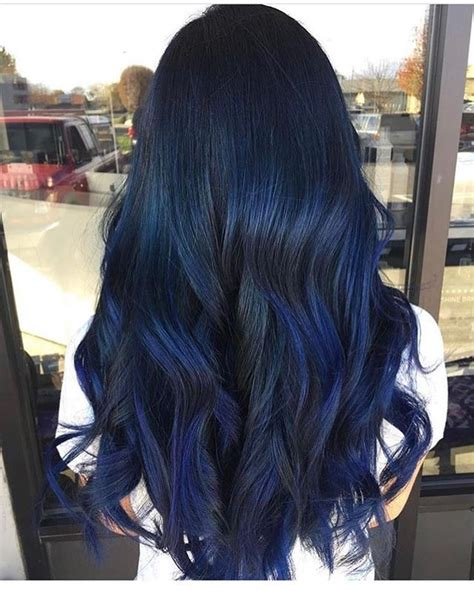 midnight blue hair color best 25 midnight blue hair ideas on blue