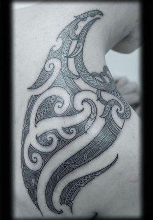 kirituhi tattoo designs custom new zealand maori ta moko kirituhi shoulder blade
