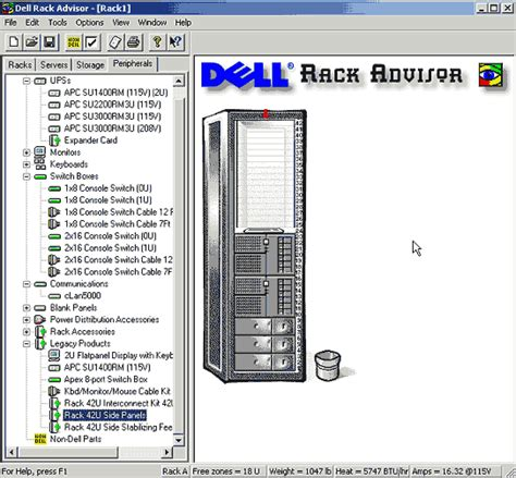 get it done use visio to diagram your rack server