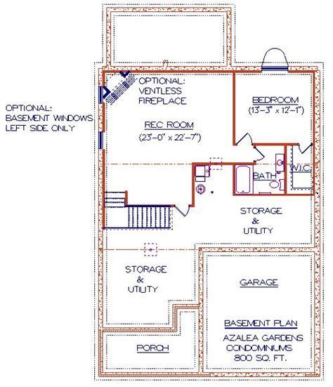 The Godfrey House Plan floor plans