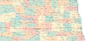North Dakota Map Usa by North Dakota Road Map Nd Road Map North Dakota Highway Map