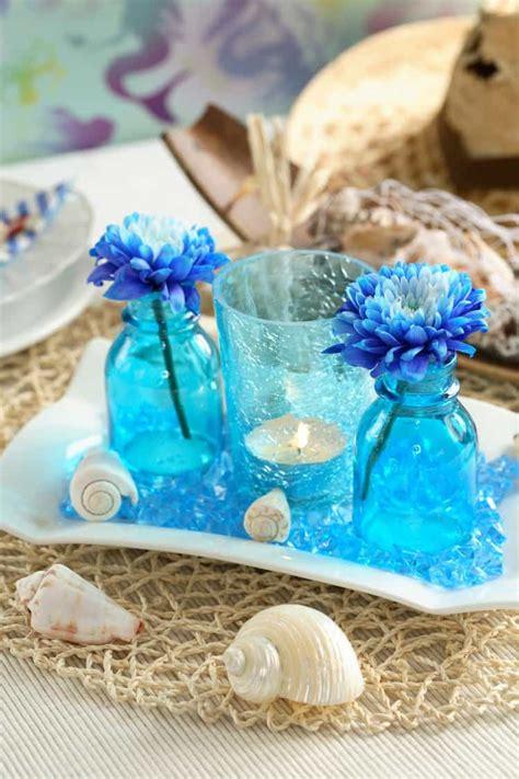 beach theme wedding centerpieces destination wedding details