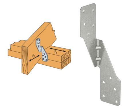 anchor straps for roof rafters strong tie structural hardware