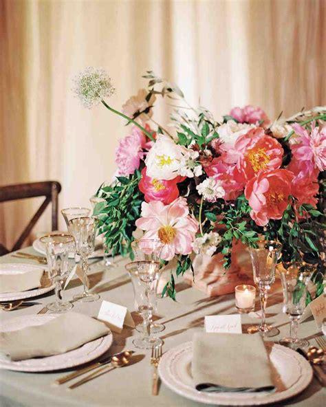 the prettiest peony wedding centerpieces martha stewart