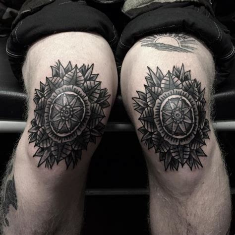 tribal tattoo knee 34 remarkable knee designs amazing ideas