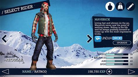 apk data mod android seru snowboard apk data mod semesta crew