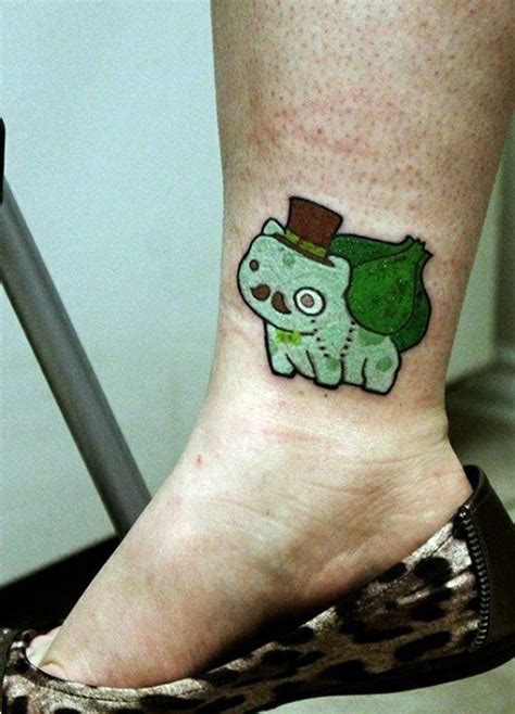 bulbasaur tattoo bulbasaur gentleman by arseniclover