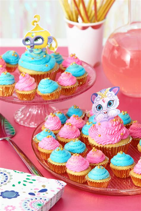Simple Birthday Party Decorations Home by Shimmer And Shine Cupcake Toppers Nickelodeon Parents