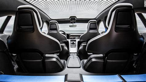 porsche electric interior porsche s electric car will be called the taycan