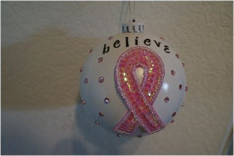 diy cancer ribbon ornaments diy breast cancer ornaments think crafts by createforless