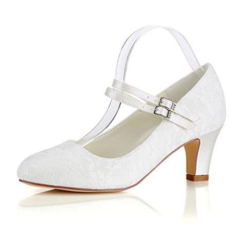 Schuhe Vintage Hochzeit by Brautschuhe Emily Bridal In Wei 223 F 252 R Damen