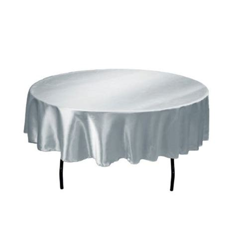 hanukkah tablecloth metallic 70 round linentablecloth 70 inch satin tablecloth silver new ebay