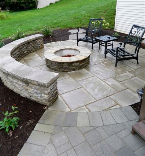 Backyard Ideas Deck And Patio Patio Deck With Separate Firepit Patio