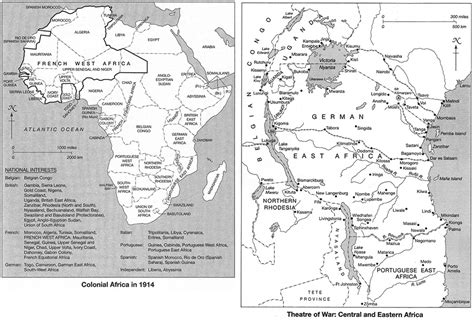 world war 1 africa map how the great war razed east africa africa research