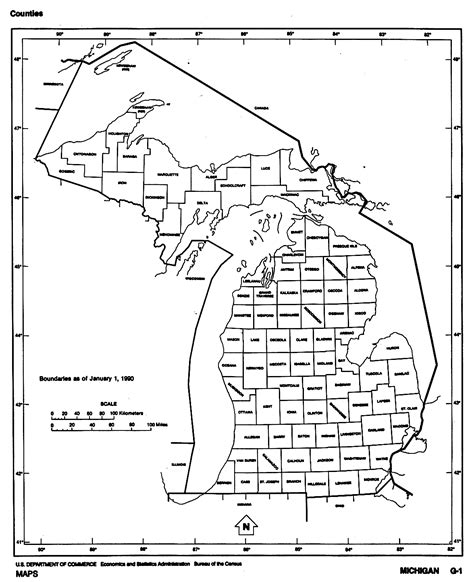 mi county map michigan maps perry casta 241 eda map collection ut