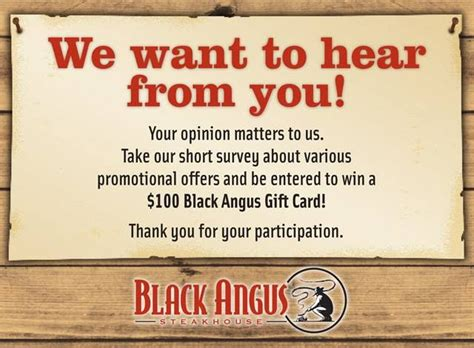 Black Angus Gift Card - 17 best images about black angus coupons on pinterest cowboys rack of lamb and