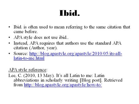 i bid apa in text citation use