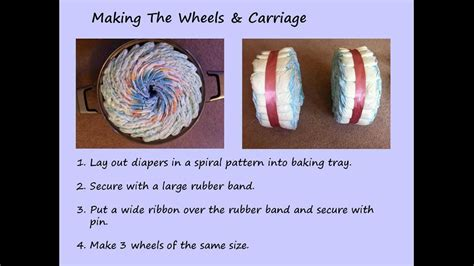 Windeltorte Motorrad Mit Beiwagen Anleitung by How To Make A Tricycle Diaper Cake Youtube