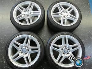 Mercedes C300 Tires Four 08 12 Mercedes Mbz C300 C350 18 Quot Wheels Tires Oem