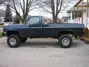 Truck Wheels 4x4 Chevy Square Chevy Lifted Autos Post