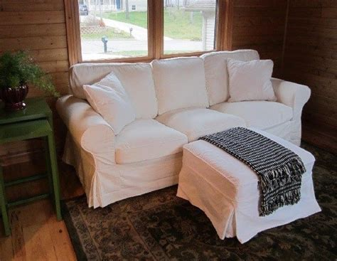 pottery barn white couch white twill slipcover made for pottery barn pb basic sofa