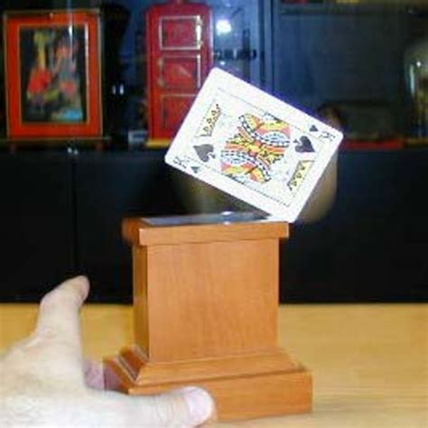 how to make a card jump out of the deck jumping card by douglas wayne martin s magic collection