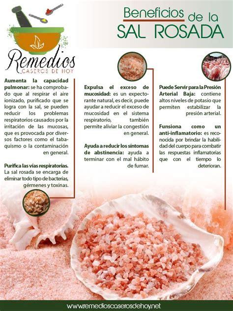 laras de sal beneficios conoce los beneficios de la sal rosada chile familia