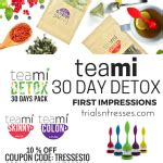 Teami Blends 30 Day Detox by 5 Day Sparkling Water Detox Challenge Trials N Tresses