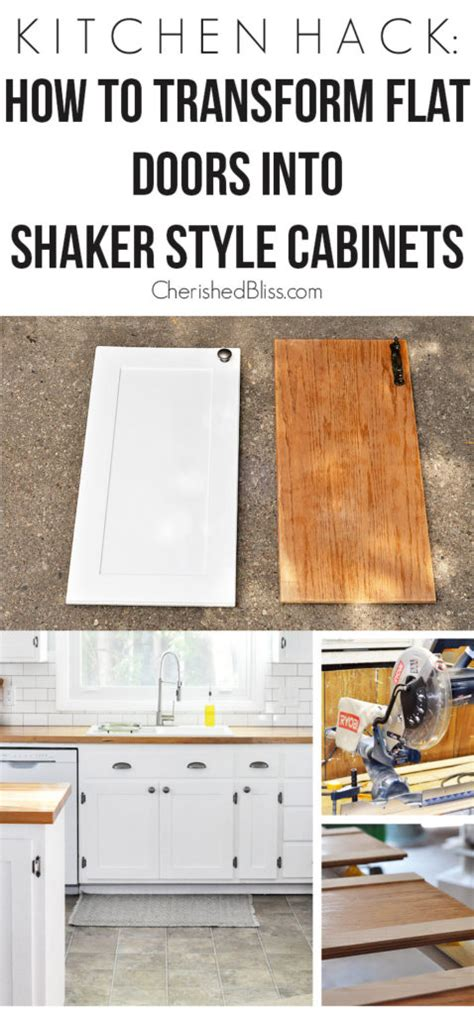 How To Transform Kitchen Cabinets 10 Diy Cabinet Doors For Updating Your Kitchen Home And Gardening Ideas