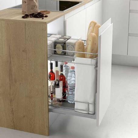 botellero panero extraible classic  mueble de cocina