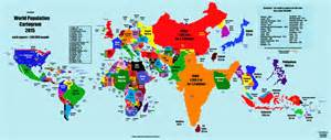 map of us based on population world map based on population size business insider