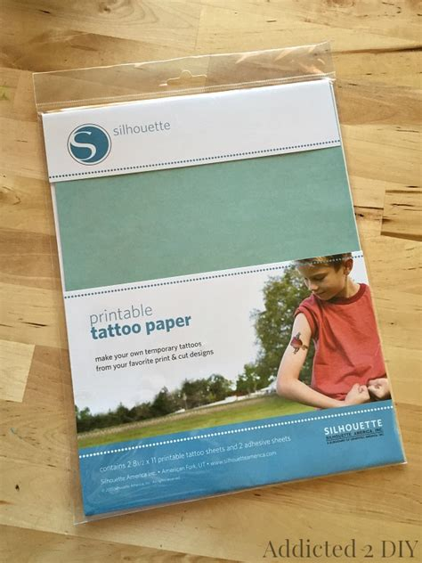 Make Your Own Temporary Tattoos Paper - create your own temporary tattoos
