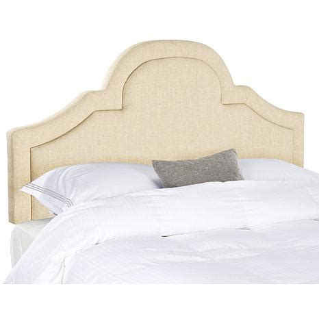 Arched Headboards by Safavieh Kerstin Arched Linen Headboard 7834445