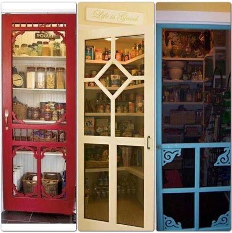 rustic screen door for the pantry kitchen