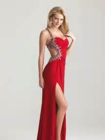 Elegant red dresses collection 2015