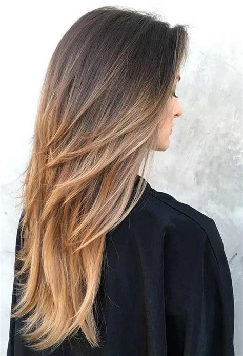 layered long haircut with height on top best 25 long layered haircuts ideas on pinterest