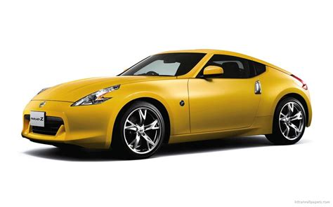 nissan fairlady 370z wallpaper yellow car images reverse search