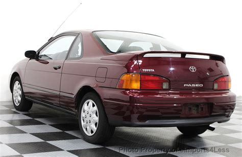 1995 used toyota paseo paseo sunroof coupe at eimports4less serving doylestown bucks county pa