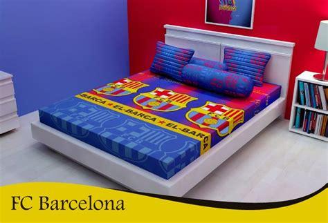sprei bed barcelona fc barcelona santika quot sprei bed cover karya indonesia