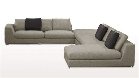 grey sectional sofa with chaise comodo sectional sofa with ottoman grey zuri furniture