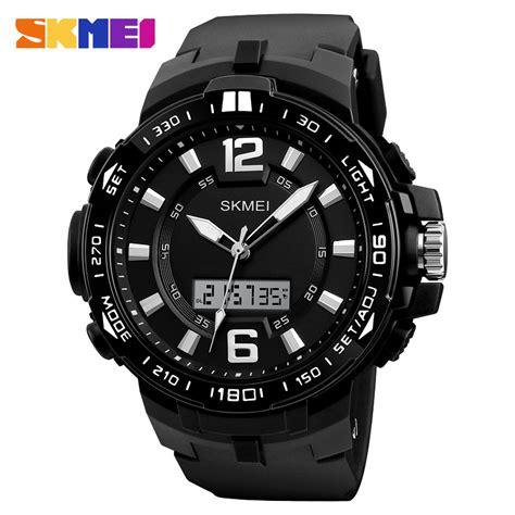 Jam Digita Jam Analog Jam Tangan Pria Cowok Murah Bonia Chrono 4 skmei jam tangan analog digital pria 1273 black jakartanotebook