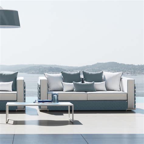 divano da giardino divano da giardino design moderno con cuscini arredo