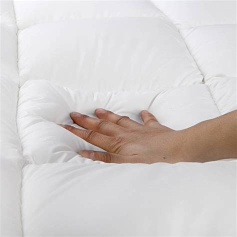 bed toppers amazon queen bamboo pillow top mattress topper pad 5cm buy
