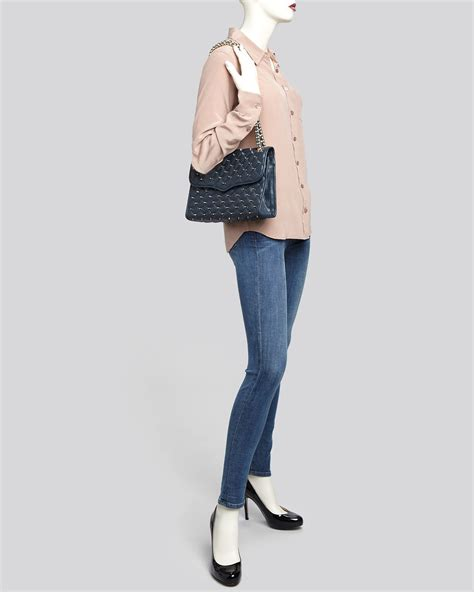 Minkoff Large Quilted Affair by Minkoff Shoulder Bag Large Quilted Affair With