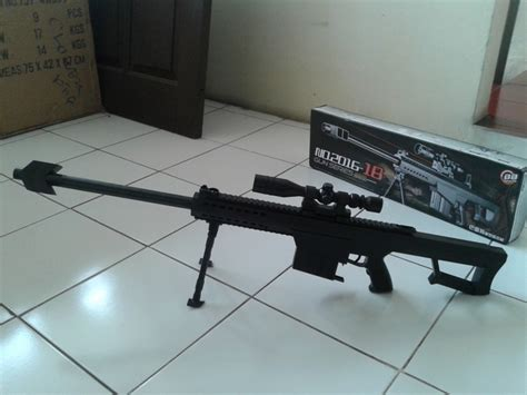 Be M16a13 Rifle Mainan Kokang Tembak 1 jual airsoftgun sniper m82 box 2016 43shop