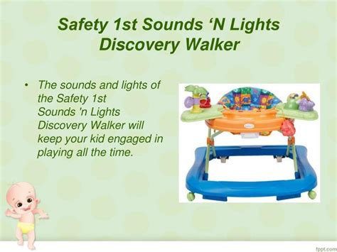 baby walker with lights and sounds ppt best baby walker powerpoint presentation id 7519118